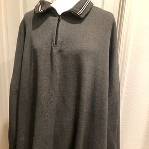 Big & Tall Harbor Bay Grey Sweat Shirt